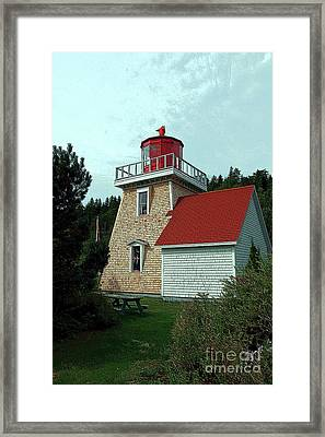 Saint Martin's Lighthouse 2 Framed Print by Kathleen Struckle