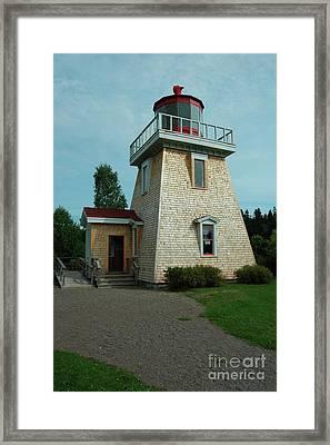 Saint Martin's Lighthouse Framed Print by Kathleen Struckle
