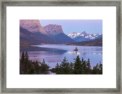 Saint Mary Colors Framed Print by Jon Glaser