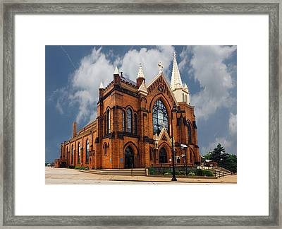 Saint Mary Of The Mount Church Framed Print