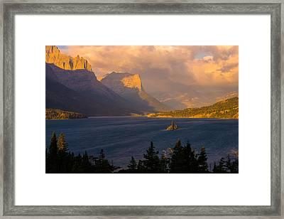 Saint Mary Sunrise Framed Print by Joseph Rossbach