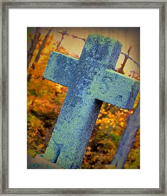 Saint Mathias Framed Print by Terry Eve Tanner
