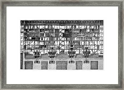Saint-maur Mills Framed Print by Science Photo Library
