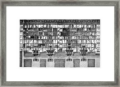 Saint-maur Mills Framed Print
