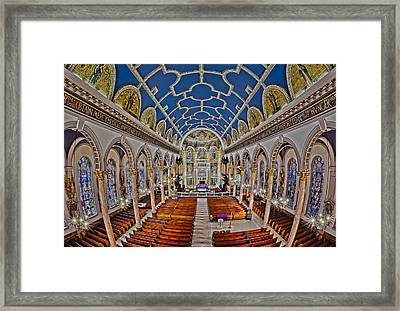 Saint Michael Church Framed Print by Susan Candelario