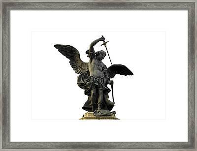 Saint Michael Framed Print by Fabrizio Troiani