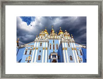 Saint Michael Monastery, Kiev, Ukraine Framed Print