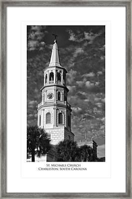 Saint Michaels Church Framed Print