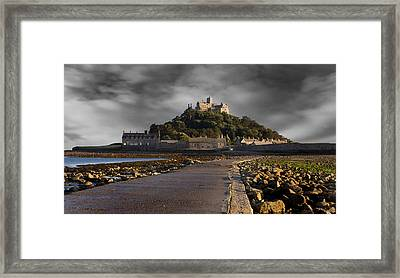 Saint Michael's Mount Framed Print