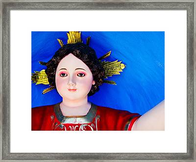 Saint Framed Print