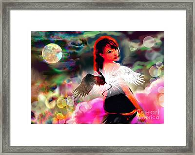 Saint Or Sinner #3 Framed Print by Diana Riukas