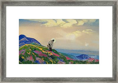 Saint Pantaleon The Healer Framed Print
