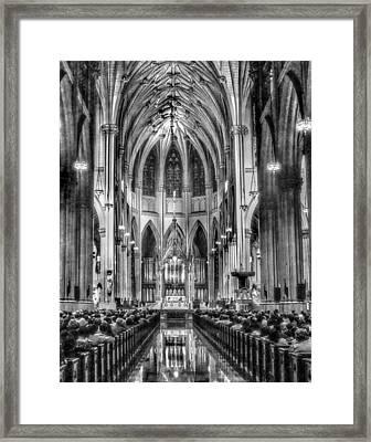 Saint Patrick Cathedral 001 Framed Print by Jeff Stallard