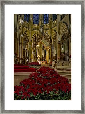 Saint Patricks Cathedral Framed Print by Susan Candelario