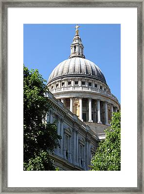 Saint Paul Cathedral Framed Print