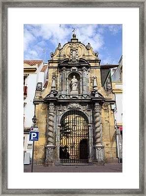 Saint Paul Church In Cordoba Framed Print