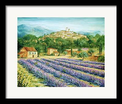 Southern France Paintings Framed Prints