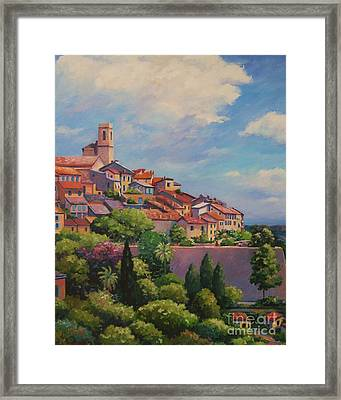 Saint Paul De Vence  Detail Framed Print