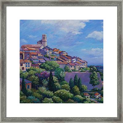 Saint Paul De Vence Square Framed Print