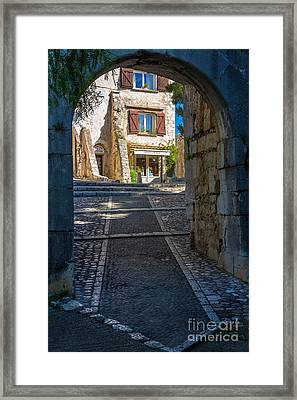 Saint Paul Entrance Framed Print by Inge Johnsson