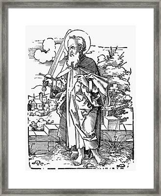 Saint Paul Framed Print by Granger