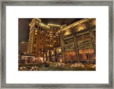Saint Paul Hotel Framed Print by Amanda Stadther