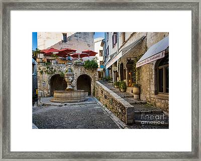 Saint Paul Square Framed Print by Inge Johnsson