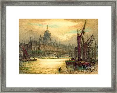 Saint Paul's Cathedral 1902 Framed Print by Padre Art