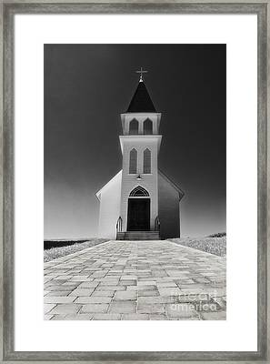 Framed Print featuring the photograph Saint Peter Church by Joseph Hollingsworth