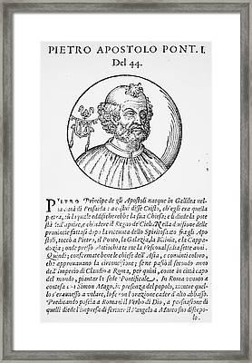 Saint Peter (d Framed Print by Granger