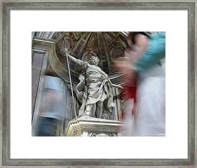 Saint Peters Traffic Framed Print