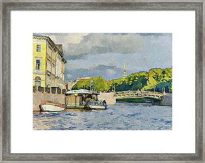 Saint Petersburg 1 Framed Print