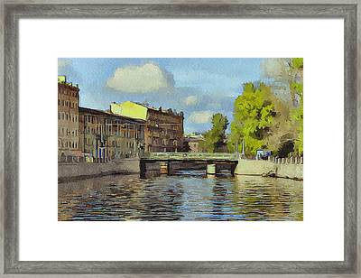 Saint Petersburg 3 Framed Print