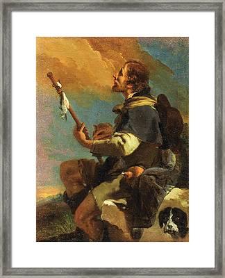 Saint Roch Framed Print by Giovanni Battista Tiepolo