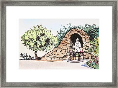 Saint Rosa Framed Print