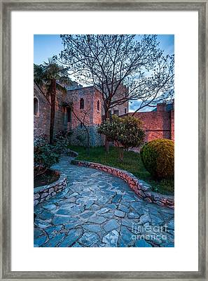 Saint-saturnin At Sunrise Framed Print by Maciej Markiewicz