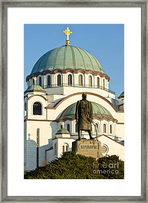 Saint Sava Cathedral Framed Print