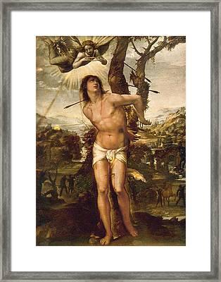 Saint Sebastian Framed Print
