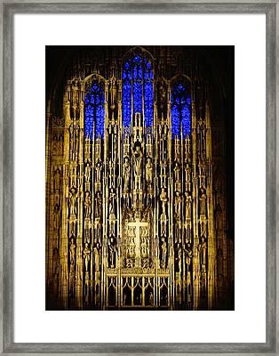 Saint Thomas Church  Framed Print
