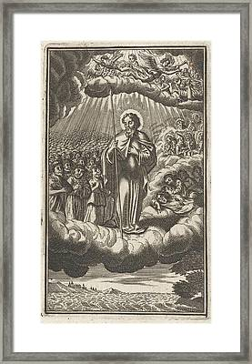 Saint Thomas In Heaven, Anonymous, Samuel Van Hoogstraten Framed Print
