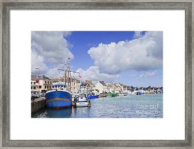 Saint Vaast La Hougue Normandy France Framed Print by Colin and Linda McKie