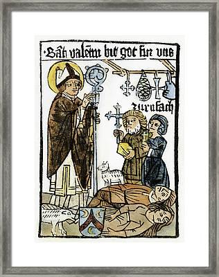Saint Valentine Framed Print