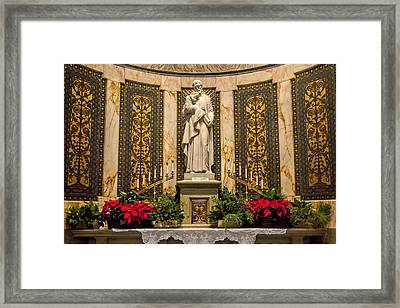 Framed Print featuring the photograph Saint Vincent Depaul Chapel by Jemmy Archer