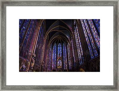 Sainte Chapelle Framed Print