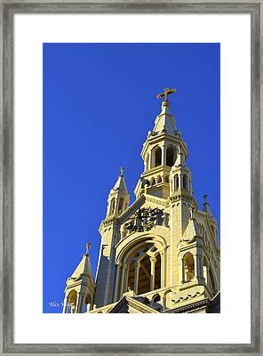 Saints Peter And Paul Church San Francisco Framed Print by Alex King