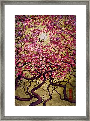 Sakura Framed Print by Vrindavan Das