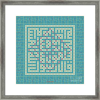 Salam Peace Framed Print