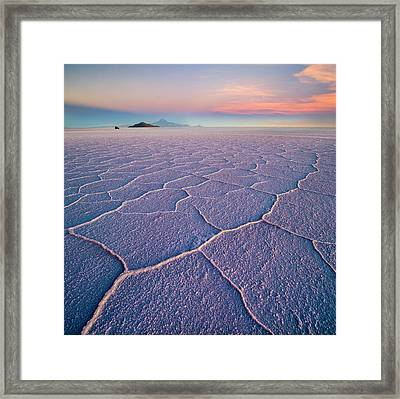 Salar De Uyuni Framed Print
