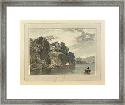 Salcombe Framed Print by British Library