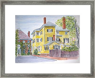 Salem Framed Print by Anthony Butera